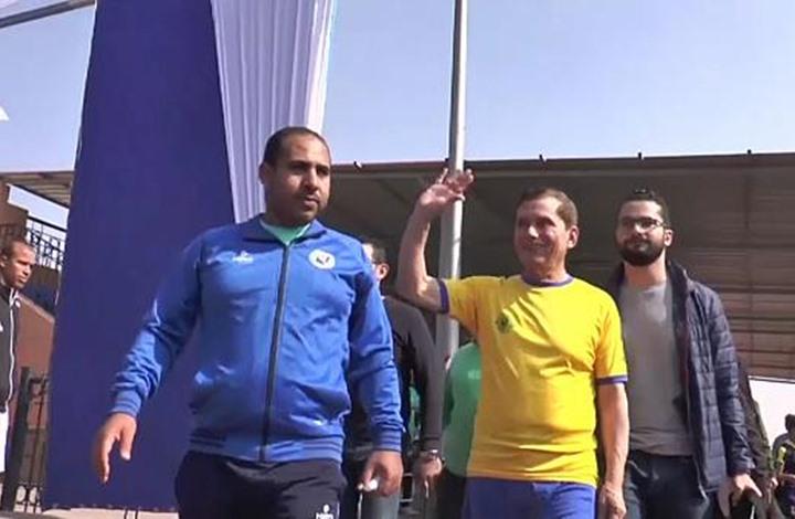"""لاعب مصري في سن الـ74 يخوض مباراة رسمية ويدخل """"غينيس"""""""