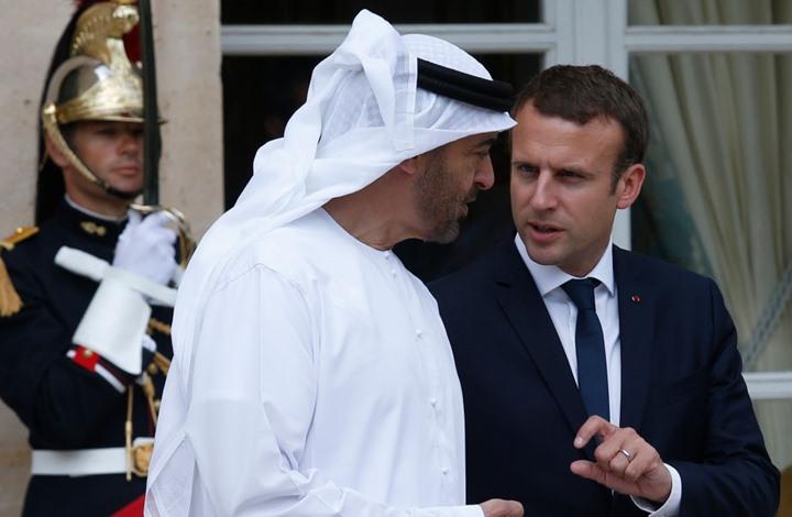 """ابن زايد يهاتف ماكرون ويشيد بـ""""العلاقة بين فرنسا والعرب"""""""