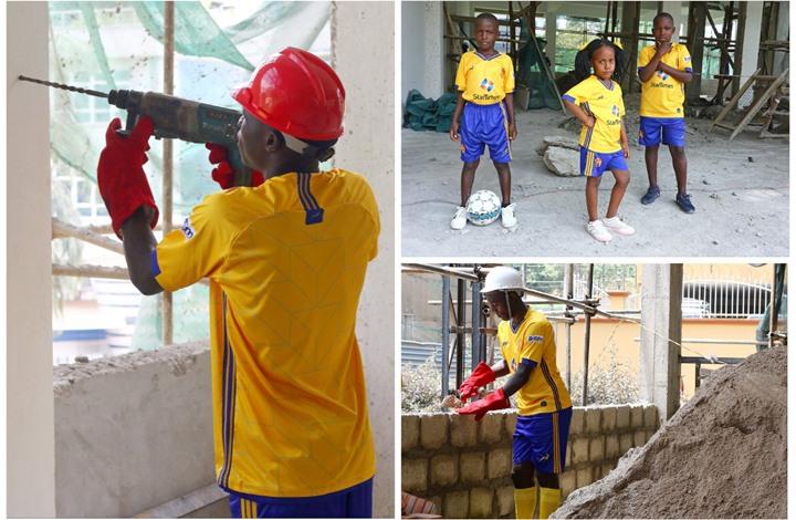 فريق أوغندي يخطف الأضواء بطريقة تقديم قمصانه الجديدة