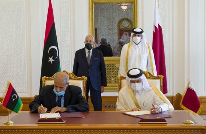 """خارجية ليبيا: اتفاقيتنا مع قطر لا تتعارض مع """"مخرجات جنيف"""""""