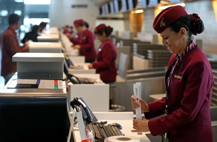 اختيار الخطوط القطرية أفضل شركة طيران بالعالم في 2021