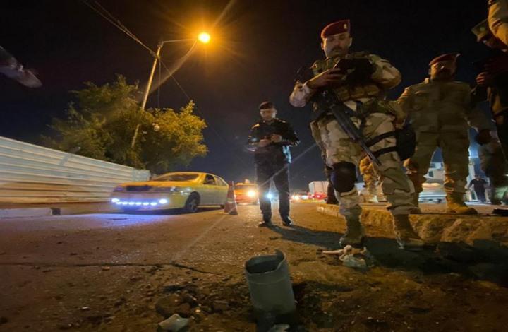 هجوم صاروخي على قاعدة تضم جنودا أمريكيين ببغداد (شاهد)
