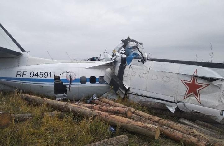مصرع 16 من هواة القفز بالمظليات بتحطم طائرة في روسيا