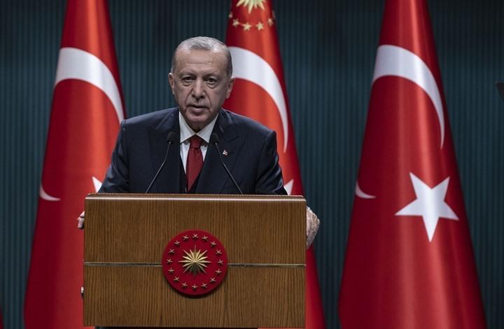أردوغان: صبرنا نفد تجاه بؤرة الإرهاب شمالي سوريا