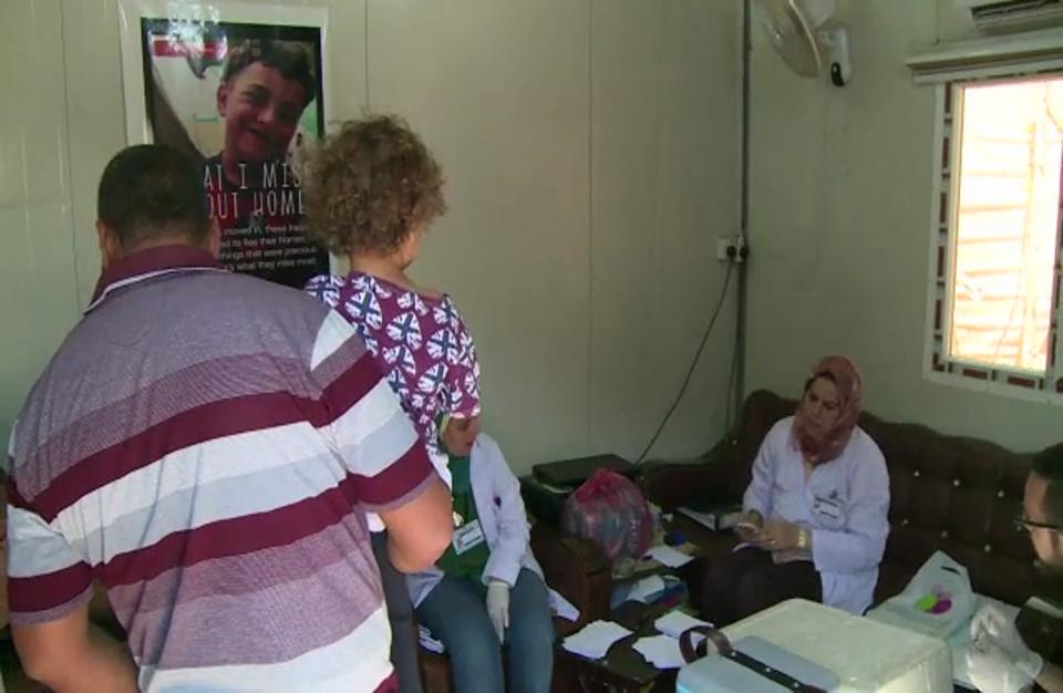 العراق يطلق حملة كبيرة للتلقيح ضد مرض الكوليرا
