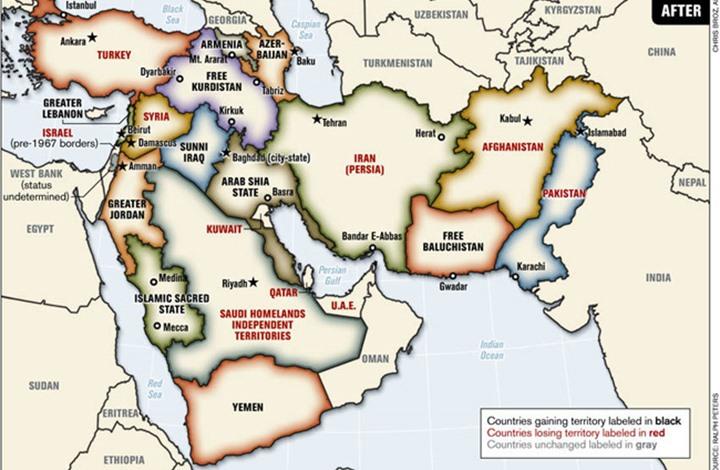 أمريكا تخطط والأغبياء ينفذون... مشروع الشرق الأوسط الجديد نموذجاً