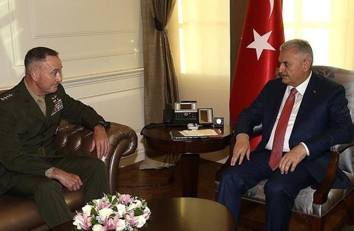 جنرال أمريكي: نرحب بدور تركي بمعركة الرقة.. ماذا عن الأكراد؟