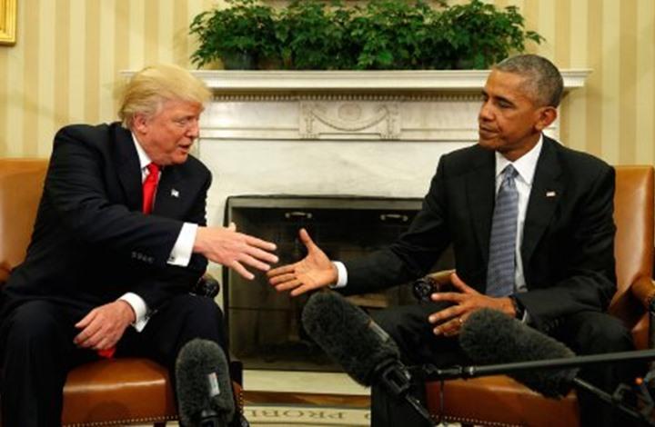 ترامب يتوعد بإلغاء قرارات لأوباما فور تسلمه لسلطاته