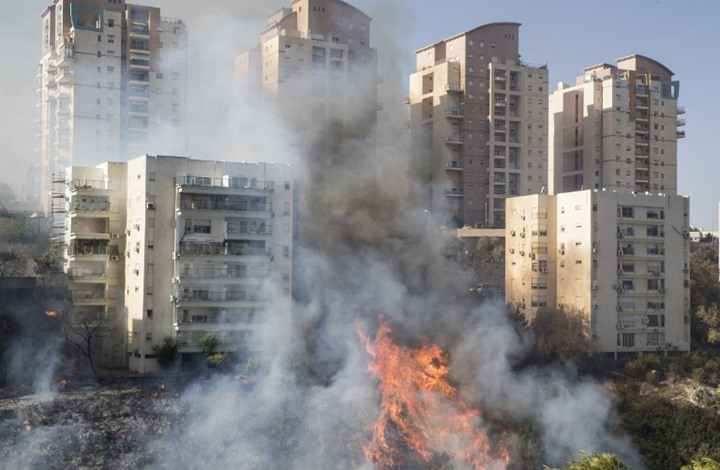 ماذا يعني مشاركة الجيش المصري في إطفاء حرائق إسرائيل؟