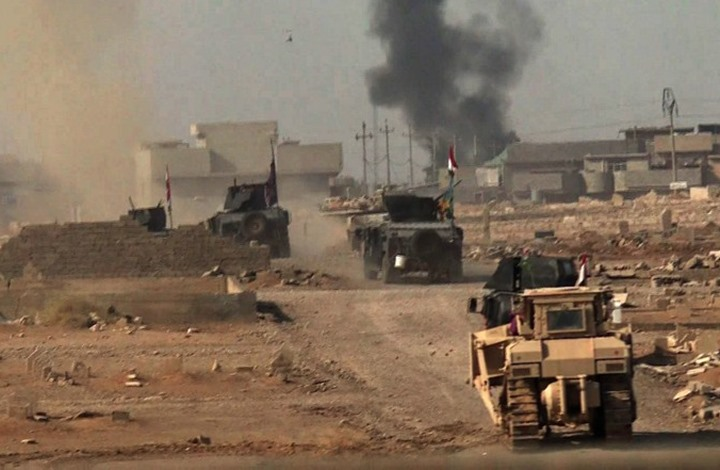 """القوات العراقية تسيطر على """"حمام العليل"""" بالكامل (شاهد)"""