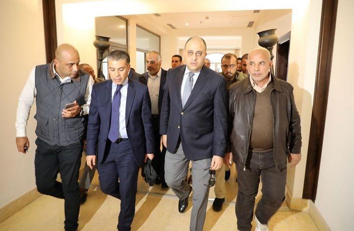 وفد مصري يصل إلى قطاع غزة