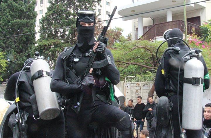 """""""معاريف"""": حماس تعزز قدراتها العسكرية البحرية أكثر من البرية"""