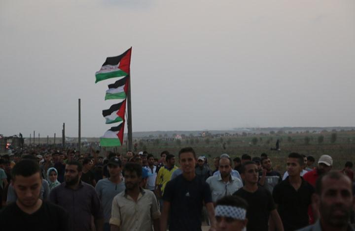 """مسيرات بغزة نصرة للقدس وإحياء لذكرى """"شهداء الإبراهيمي"""""""