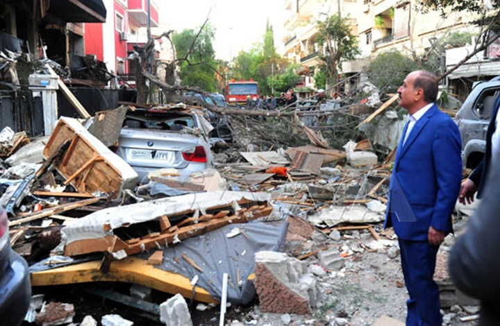 """شهيدان ونجاة قيادي بـ""""الجهاد"""" بغارة إسرائيلية على دمشق"""