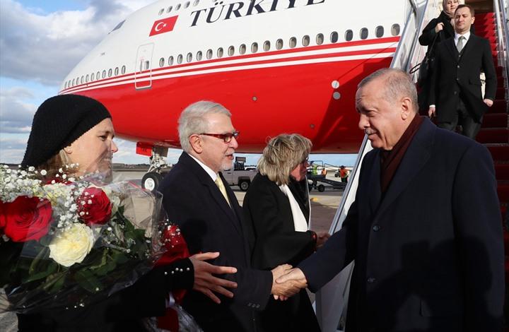أردوغان يصل واشنطن للقاء ترامب.. هذه الملفات على أجندته