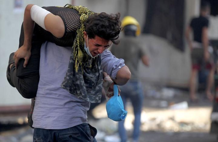 المتظاهرون بالعراق يتعرضون لأساليب ترهيب جديدة (صورة)