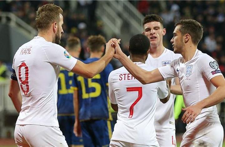 """فوز كاسح لإنجلترا في آخر مباريات تصفيات """"يورو 2020"""" (شاهد)"""