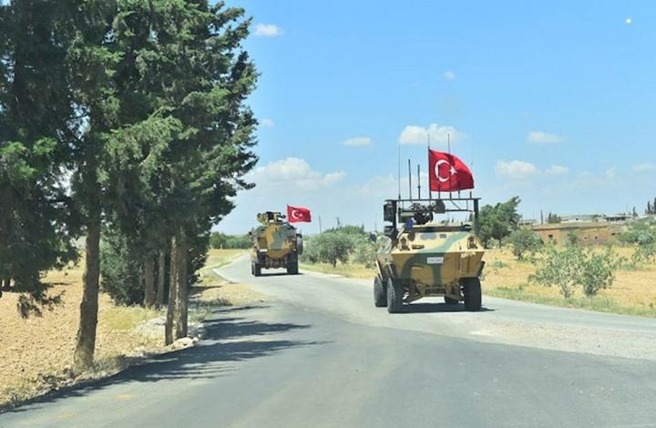 تركيا وروسيا تستكملان الدورية التاسعة شرق نهر الفرات بسوريا