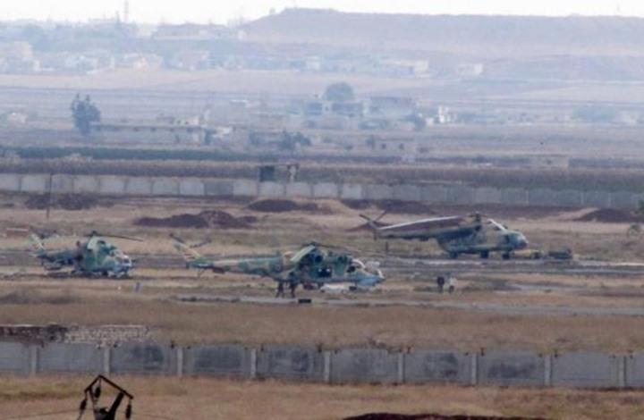 طائرات مسيرة تستهدف عناصر النظام بمطار حماة العسكري
