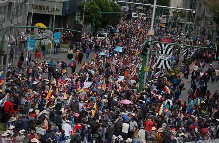 بوليفيا.. ارتفاع قتلى الاحتجاجات إلى 25 من أنصار موراليس