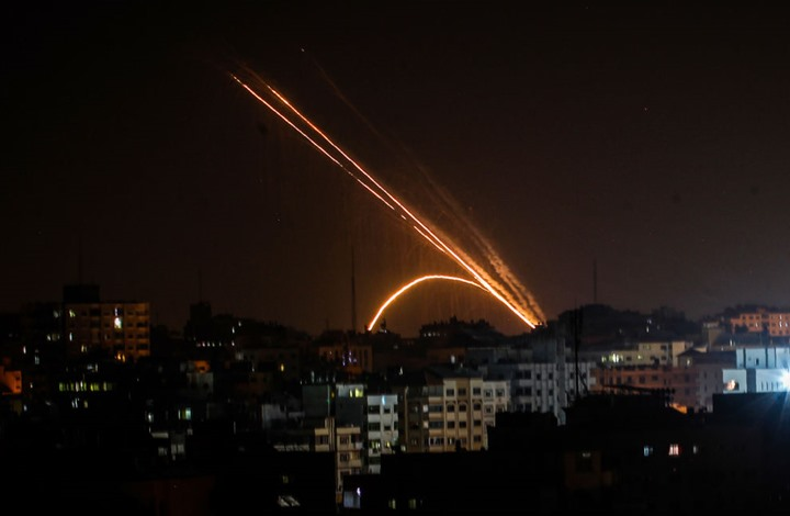 طائرات الاحتلال تقصف عدة مواقع للمقاومة في قطاع غزة