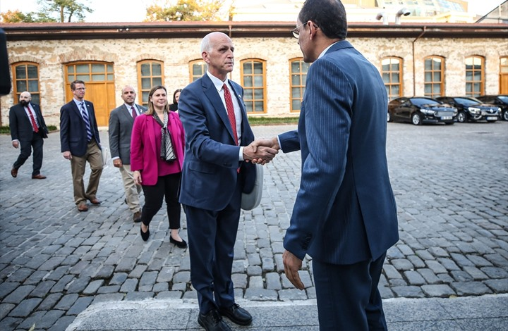 متحدث الرئاسة التركية يجري مباحثات مع وفد نيابي أمريكي