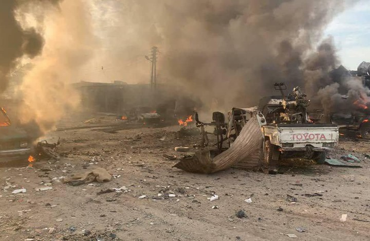 """قتلى وإصابات بتفجير """"مفخخة"""" شمال شرق سوريا"""