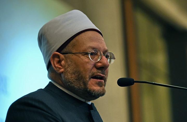 المفتي: مصر تراعي معايير حقوق الإنسان.. والنشطاء يجيبونه