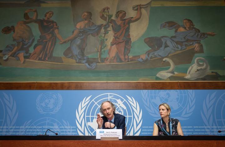 """عضو بوفد المعارضة السورية يمتدح """"الجولة الرابعة"""" في جنيف"""