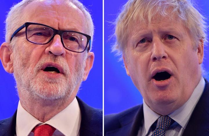 استطلاع جديد يظهر تقدم حزب جونسون بانتخابات بريطانيا