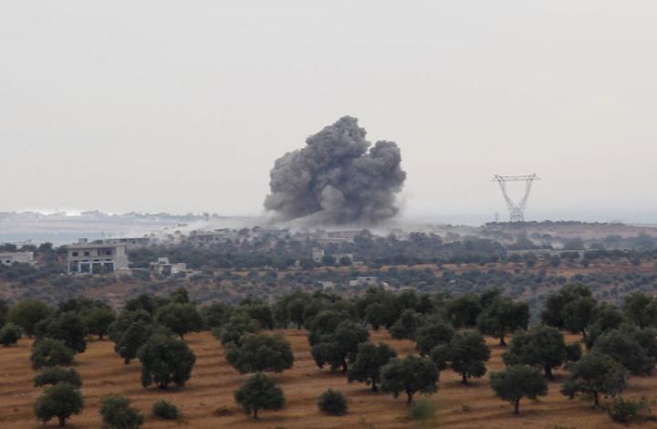 مقتل مدني بغارات روسية على ريف إدلب
