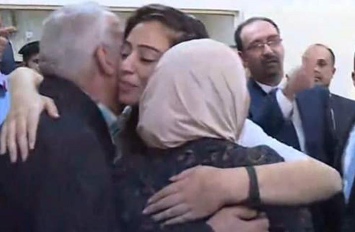 """استقبال رسمي وشعبي كبير للأسيرين الأردنيين """"مرعي واللبدي"""""""