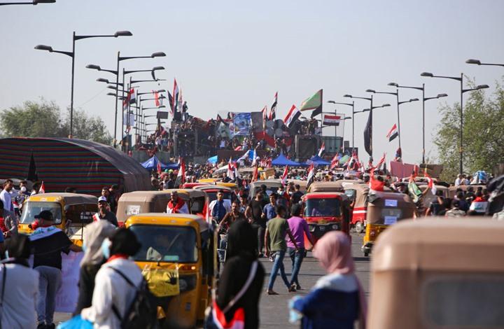 الجيش العراقي يهدد باعتقال كل من يغلق الطرقات