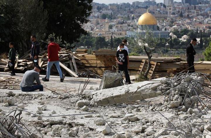 الاحتلال يصعّد انتهاكاته بالقدس.. هدم 11 منزلا خلال شهر