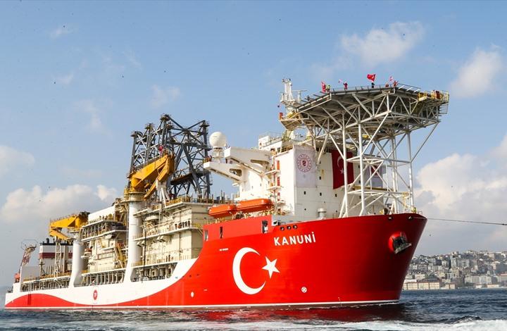 تركيا ترسل سفينة تنقيب ثالثة إلى البحر الأسود
