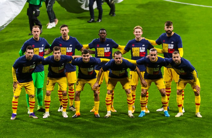 برشلونة يعلن إصابة نجميه أمام أتلتيكو مدريد