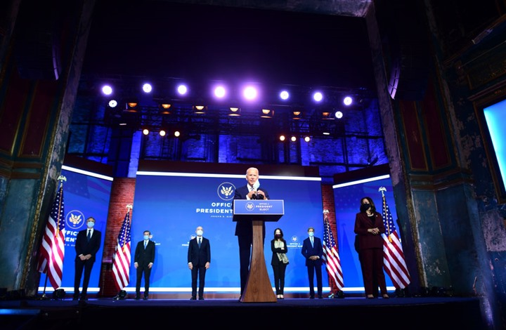 بايدن: رئاستي لن تكون ولاية ثالثة لأوباما وسأقود العالم