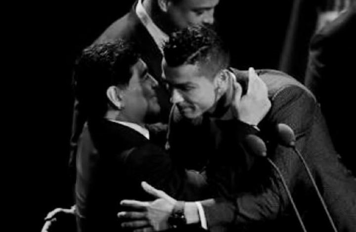 رونالدو ينعى مارادونا: وداعا أيها العبقري الخالد (صورة)