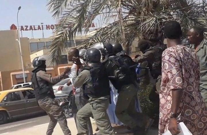 اعتقالات تطال عشرات الناشطين إثر مظاهرة في موريتانيا