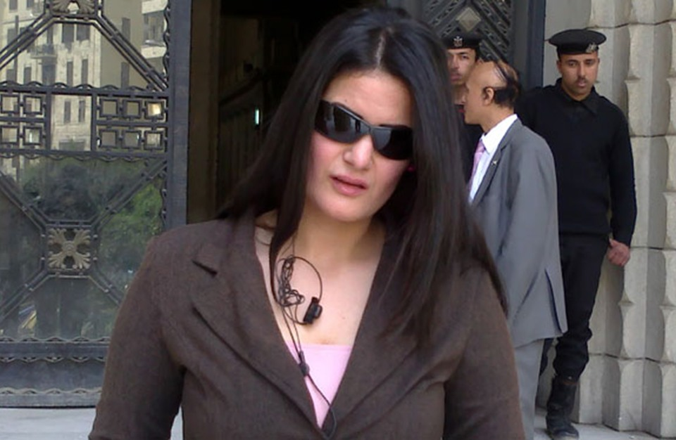 الراقصة سما المصري تترشح للبرلمان بدائرة مرسي