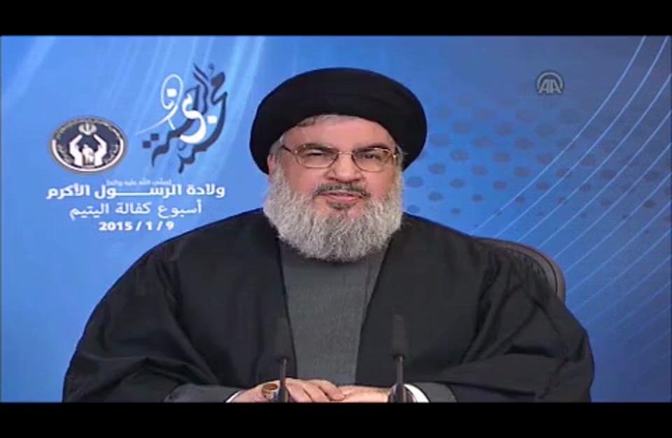 """""""نصر الله"""" يهاجم البحرين ويصف نظامها بـ""""الطاغية"""" (فيديو)"""