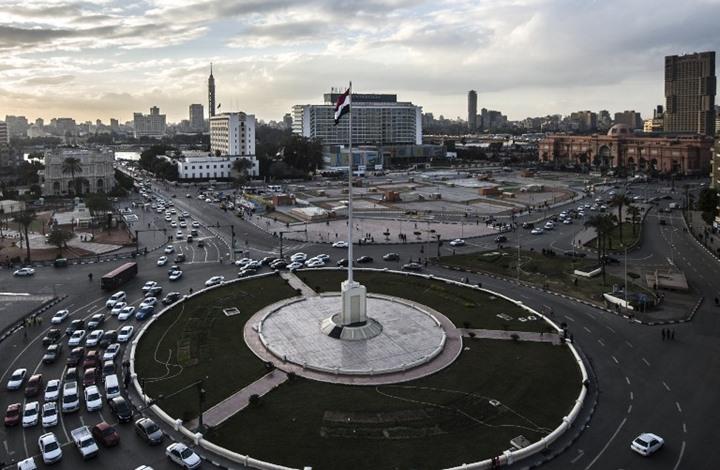 مصري يشعل النار بنفسه وسط  التحرير والأمن: إخوان (فيديو)