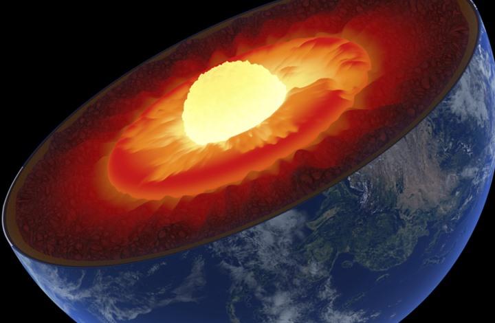 """اكتشاف """"العنصر المفقود"""" في تكوين نواة الأرض"""