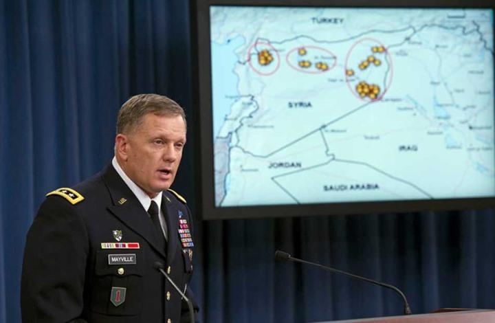 """البنتاغون: عملية الإنزال بدير الزور """"استهدفت قادة بداعش"""""""