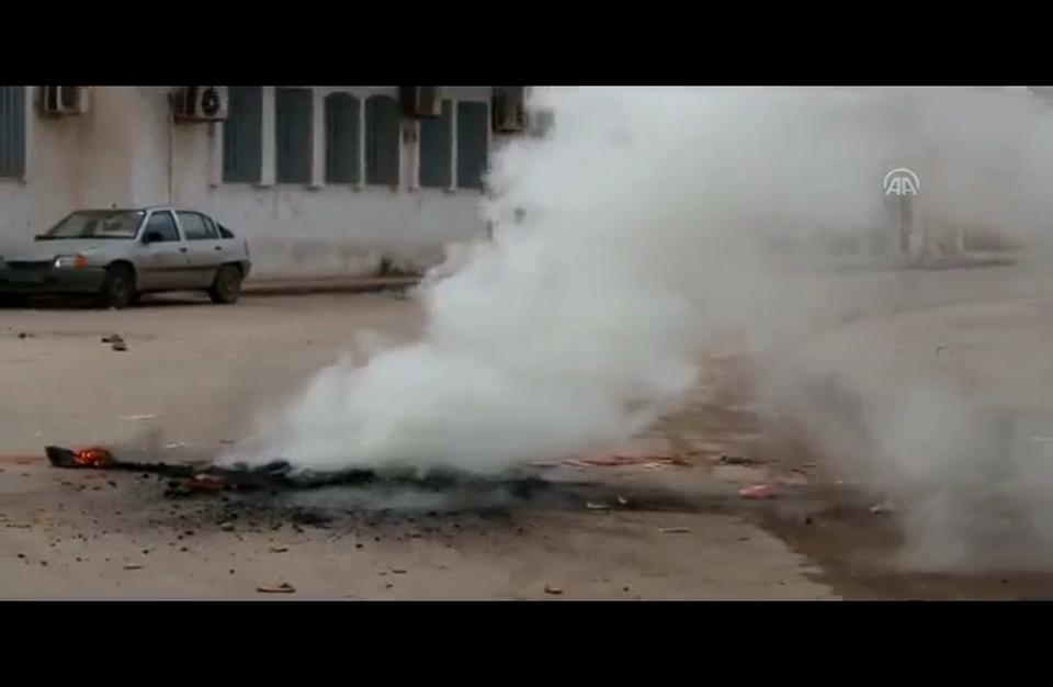 مواجهات بين الأمن التونسي ومحتجين في بنقردان الحدودية مع ليبيا