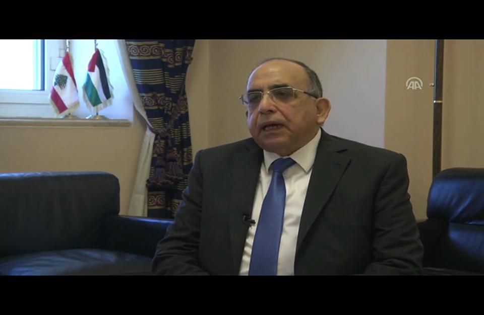 رئيس لجنة الحوار اللبناني – الفلسطيني يحذر ترامب من زلزال سياسي