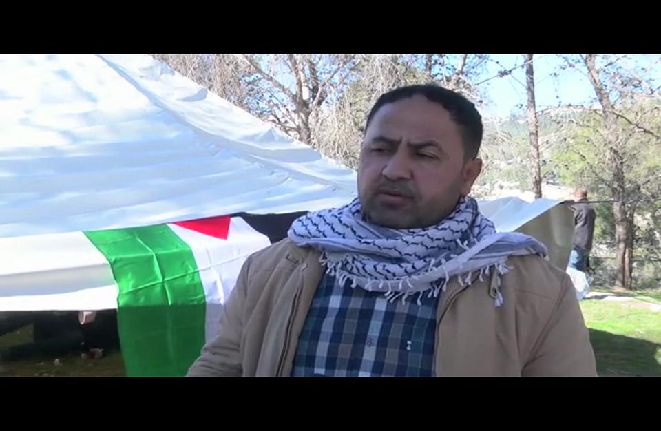 """فلسطينيون يشيّدون قرية مناهضة للاستيطان قرب """"معاليه أدوميم"""""""
