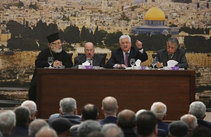 """""""المركزي الفلسطيني"""" يعلق الاعتراف بإسرائيل والتنسيق الأمني"""