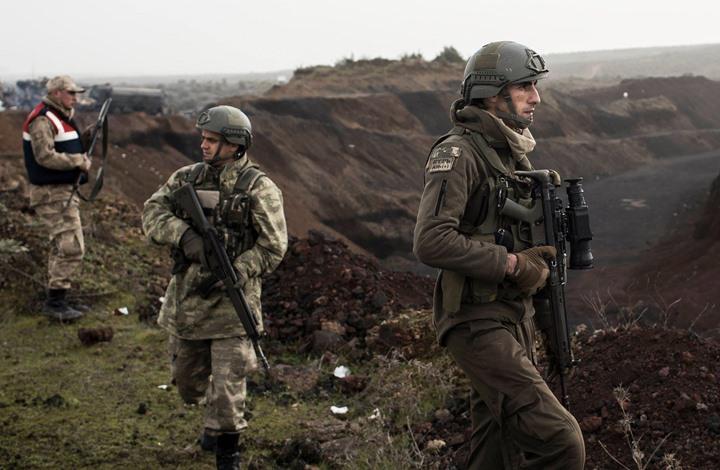 هذه المحاور التي يتقدم منها الجيش التركي نحو عفرين (خريطة)