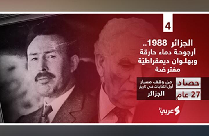 الجزائر 1988.. دماء حارقة وديمقراطيّة مفترضة (1من2)